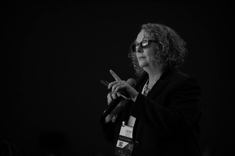 Dena Gassner Presenting at a Conference